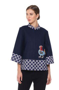 29 ideas for sewing blouse pattern tunics linen shirts New Dress Pattern, Tunic Pattern, Pattern Sewing, Blouse Batik, Batik Dress, Batik Kebaya, Sewing Blouses, Batik Fashion, Stylish Dress Designs