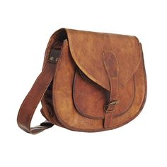 Vintage leather bag by Vida Vida
