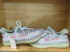 378be7150d4 Adidas Yeezy Boost 350 V2 BLUE TINT Grey B37571 YZY SPLY Kanye AUTHENTIC size  9