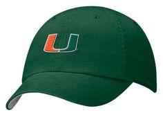 Women's Miami Hurricanes Hat - Green Nike Classic Campus