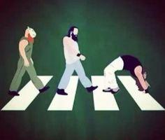 The Wyatt Family Abbey Road Wrestling Posters, Wrestling Wwe, Wwe Funny, Funny Memes, The Wyatt Family, Nxt Divas, Bray Wyatt, Circus Baby, Wwe Tna