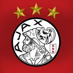 Ajax logo fusion of the 2 last logo's Fifa Football, Football Icon, Football Cards, Afc Ajax, Mosaic Artwork, Cross Paintings, Amsterdam, Silhouette Cameo, Sewing Crafts
