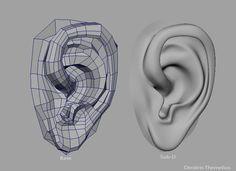 construcción oreja