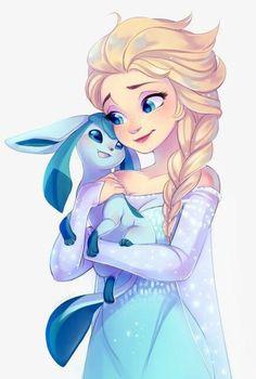 Elsa has a new pet!