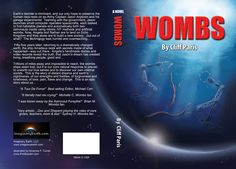 1st Edition Book cover art for Wombs, by Cliff Paris. Illustrated by A. F. Turner