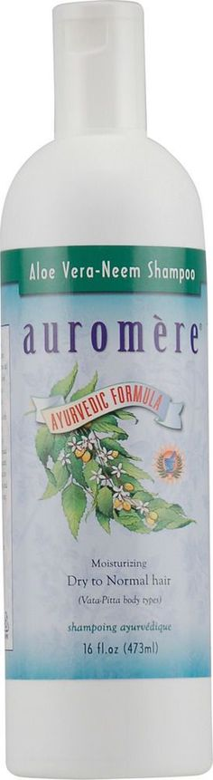 Aloe Vera Neem Ayurvedic Shampoo, Auromere, 16 Oz
