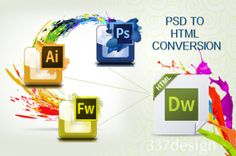 Hire professional PSD to HTML Conversion service provider company from India at affordable price. Contact : www.emailchopper.com