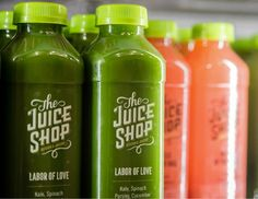 Branding Project: 'The Juice Shop' by No Entry Design and Josh Held Design