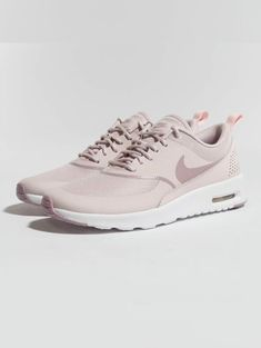 Nike Air Max Thea Sneaker Barely Rose / Elemental Rose / White - Women Dresses for Every Age! Cute Sneakers, Sneakers Mode, Air Max Sneakers, Sneakers Fashion, Fashion Shoes, Air Max Thea, Black Nike Shorts, Nike Shorts Women, Nike Women