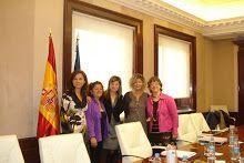Entrevista con la Sra.Ministra de Igualdad .ADAEC - Andalucia.Endometriosis,Galeria de Fotos - Álbumes web de Picasa