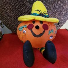 Just Listed ... Pumpkin Sporting It's Yellow Hat A3 For Sale by Fabpatterns1015 - $9.00 .  http://etsy.me/21Y2jkq .  FREE SHIPPING U.S.A.  #fabpattern1015 #fit #like #handmade #awesome #pumpkin #halloween #tweet #twitter #buffer #wp #fb #tagsforlike #pic #photo #oftheday #blog #julia #etsy #shar #pop #DIY #supply #sewing #emporium #boutique #studio #seamstress #recycle #follow .  @instagram @sharpharmade