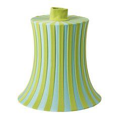 IKEA - ÄMTEVIK, Klosz, Stwórz swoją własną lampę wiszącą lub podłogową, łącząc klosz z wybraną oprawką z kablem lub podstawą.Klosz jest łatwy do utrzymania w czystości, bo tkaninę można prać w pralce.Osłona z tkaniny rozprowadzająca rozproszone i dekoracyjne światło pozwoli stworzyć w domu delikatną, przytulną atmosferę.