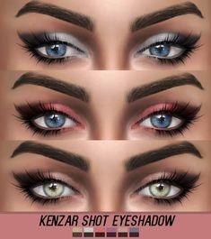 Kenzar Sims: Shot Eyeshadow • Sims 4 Downloads