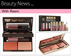 Read the beauty news on MakeupForLunch blog .. To be alerted with the newest makeup products out there ..  From laura mercier to Buxom to Hourglass ..