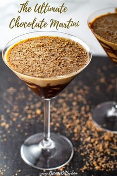 My Chocolate Martini recipe uses three simple ingredients: vanilla vodka, Godiva chocolate liqueur, and creme de cacao to make a deliciously balanced and easy vodka martini. How to make instructions plus making this dairy free instructions are included. Fun Cocktails, Fun Drinks, Yummy Drinks, Cocktail Recipes, Easter Cocktails, Camping Drinks, Thanksgiving Cocktails, Alcoholic Beverages, Party Drinks