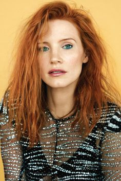 Jessica Chastain Grazia Magazine France February 2017 Cover and Photos Celebstills J Jessica Chastain Perfect Redhead, Gorgeous Redhead, Gorgeous Women, Jessica Chastain, Red Hair Inspiration, Actress Jessica, Celebs, Celebrities, Beautiful Actresses
