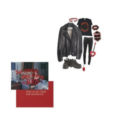 """no time for love"" by s8tan ❤ liked on Polyvore featuring rag & bone, CO, Manic Panic NYC and Yves Saint Laurent"