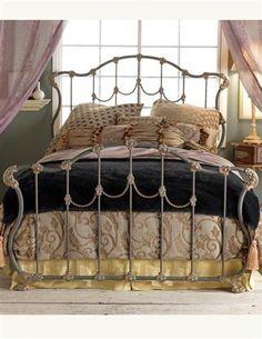 HAMILTON IRON BED ~ Victorian Trading Company