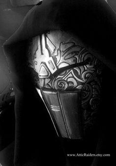 Star Wars Sith Mask - In Progress by *MonkeyNoC on deviantART