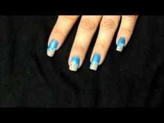 BEACH NAILS (with Sensationail Gel) - YouTube
