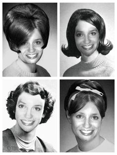 1950's HAIRSTYLES | 1950′s Hairstyles turn back. Full size picture 480 × 640
