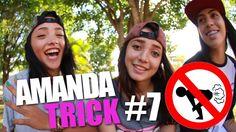 AMANDA TRICK #7 - AMANDA PEIDA? + GABY OLIVEIRA   SKATE