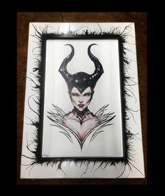"Maleficent by Jamie Tyndall with the ""Venom"" Frame"