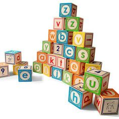 Uncle Goose Lowercase ABC Blocks at Lila Mae