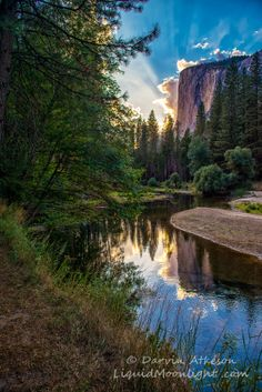 Sunset at El Capitan - Yosemite National Park