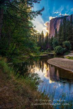Sunset at El Capitan - Yosemite National Park