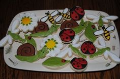 Spring Cookies By toodlesjupiter on CakeCentral.com