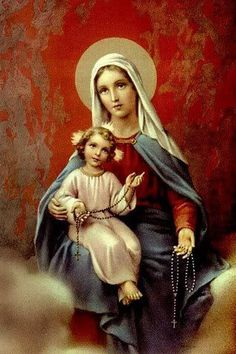 Holy and forever Immaculate Mary , the Blessed Mother of God
