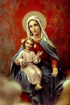 El Rosario es oxigeno para el alma. Padre Pio