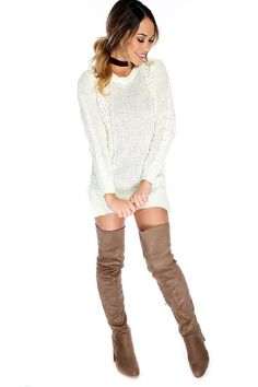384370f6fb53c 150 Best Cute Sweater Dresses! images in 2019 | Cute sweater dresses ...
