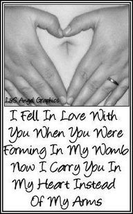 <3 this it is touching and means alot to me. Losing a baby is so hard.