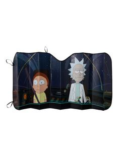 Transform your car into a Space Cruiser! // Rick And Morty Accordion Sunshade
