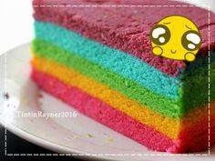 Resep Steamed Rainbow Cake Ny Liem oleh Tintin Rayner – Cookpad Source by rafiindriani Pear Recipes, Cake Recipes, Indonesian Desserts, Resep Cake, Steamed Cake, Pear Cake, Different Cakes, Cake Toppings, Cake Mold