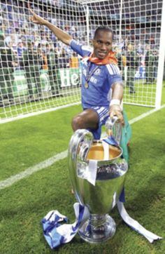 Didier Drogba - World Soccer People of The Year... Deservedly ;-)