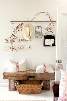 EN MI ESPACIO VITAL: Muebles Recuperados y Decoración Vintage: Rústico Chic { Rustic Chic Style }