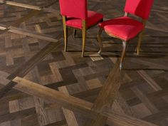 Fumed Oak Versailles Panel This superb fumed oak Versailles panel is available as both an engineered or solid wood floor. The fuming process ensures that the wood is the same colour right the way throughout the thickness of the board. This particular design is also available with a border.