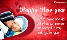 Romantic New Year Cards