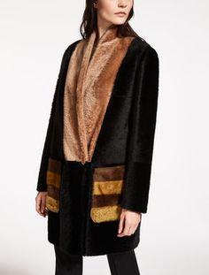 Cappotto in montone effetto alpaca  MAX MARA