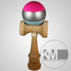 KM4-Stripe-Pink-Silver-Light-Blue Beautiful Farm, Light Blue, Toys, Silver, Pink, Cards, Activity Toys, Clearance Toys, Maps