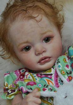 Alla s Babies Reborn Baby Girl Doll Julietta Awake,Natali Blick, IIORA