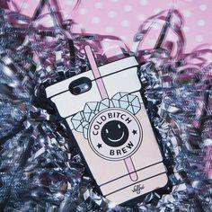 Cold Bitch Brew Phone Case ☕️ #valfre | Valfre.com