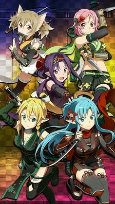 Sword Art Online Memory Defrag - Ninja expansion [Didn't get any of these characters, DOH!]
