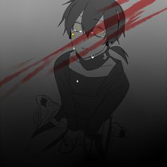 Don't cry Kuroha! *hugs* (Kagerou Project)