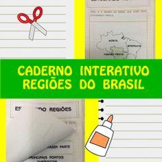 Código 562 Caderno Interativo - Regiões do Brasil