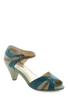 At First Sight Heel in Teal
