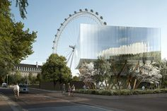 Designers of The London Eye Plan Neighbouring Glass Pavilion | HUH.